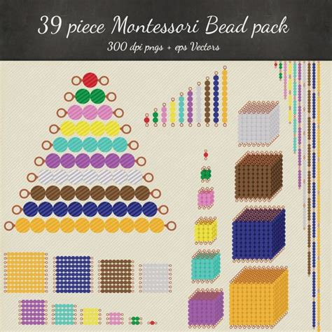 printable montessori golden beads montessori bead printables diy montessori bead stairs