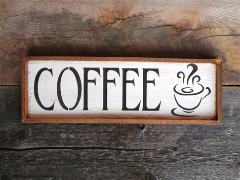 cafe sign kitchen signs and home decor diner and restaurant