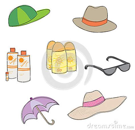 clipart picture protection from the sun stock photo image 31152630