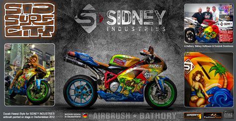 Sidney Hoffmann Motorrad by Airbrush Bathory Speyer Motorr 196 Der Sport Bikes