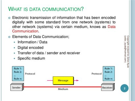 Data Communications And Networking data communication and network chapter 1