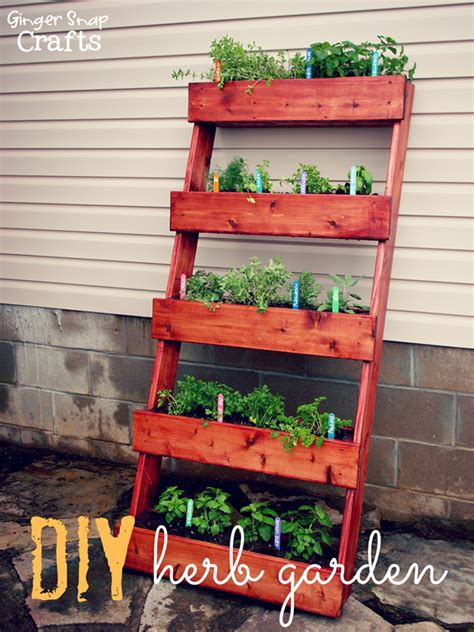 diy home depot ginger snap crafts diy herb garden tutorial digin ad