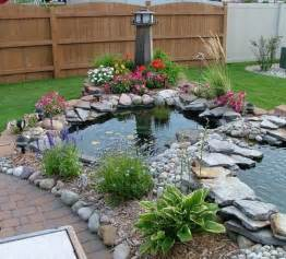 Backyard Pond Ideas Small Outdoor Ponds Small Water Garden Pond Lowe S Garden Ponds Garden Ideas Mytechref