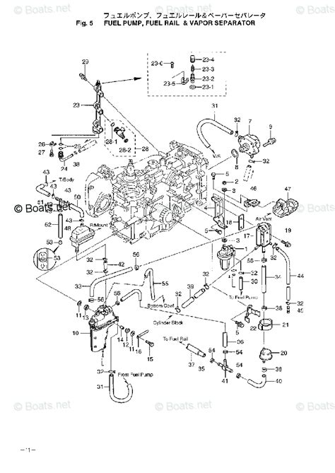 Nissan 2006 NSF25B - 4 Stroke Nissan OEM Parts Diagram for