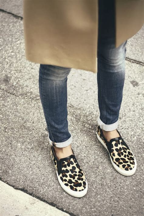 slip on sneakers style looks and chic