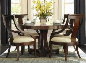 dining room designs elegant round dining tables set luxurious wooden style design best family