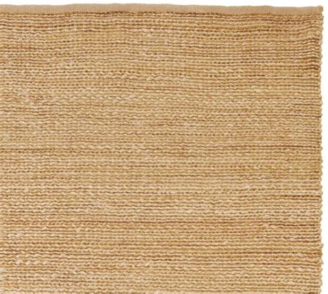 heathered chenille jute rug pottery barn