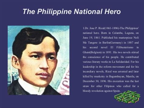 what is biography in filipino philippine national heroes