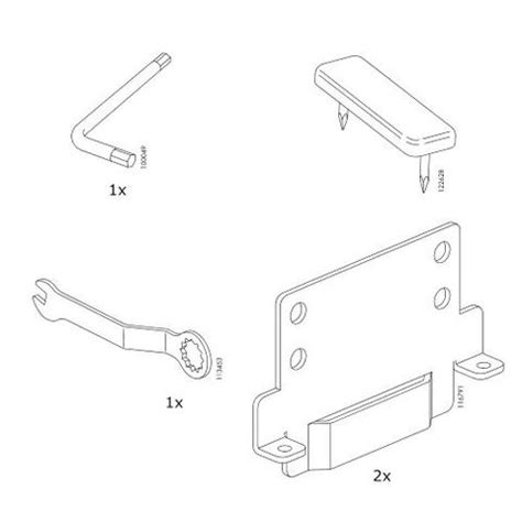 Replacement Parts For Bed Frames Ikea Malm Bed Frame High Bed Replacement Parts Furnitureparts