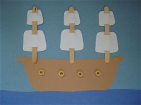pirate ship craft template activities adventures on the high seas