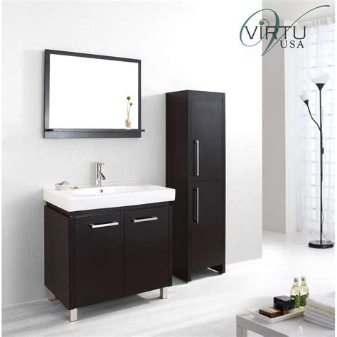 virtu bathroom accessories virtu usa harmen 32 quot single sink bathroom vanity set