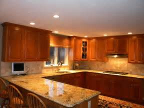 pictures of kitchen backsplashes with granite countertops kitchen countertops and backsplashes granite countertops w tumble marble backsplash the