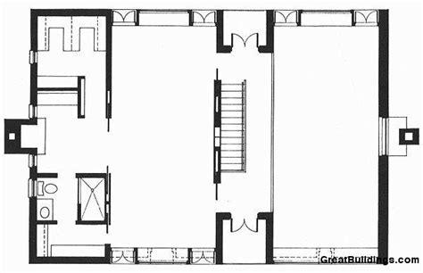 esherick house floor plan esherick house 루이스칸 네이버 블로그