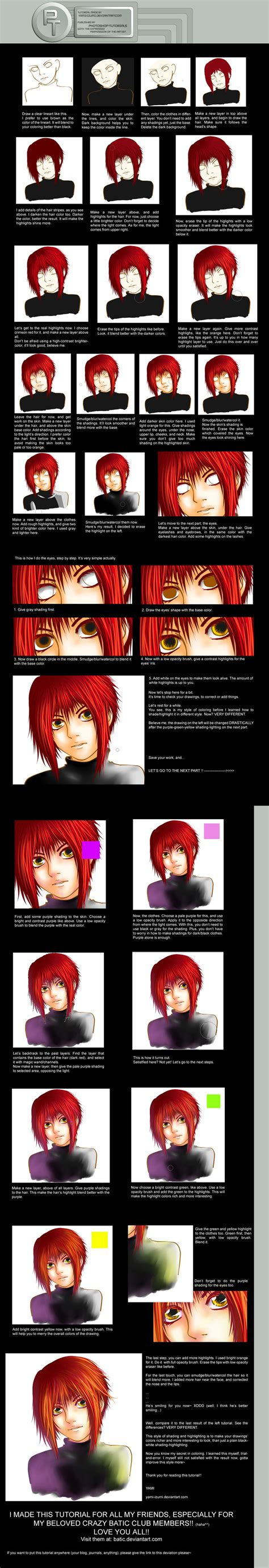 adobe photoshop shading tutorial contrast shading t by photoshop tutorials on deviantart