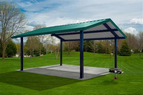 Metall Pavillon by Steel Shelter Pavilion And Pergolas
