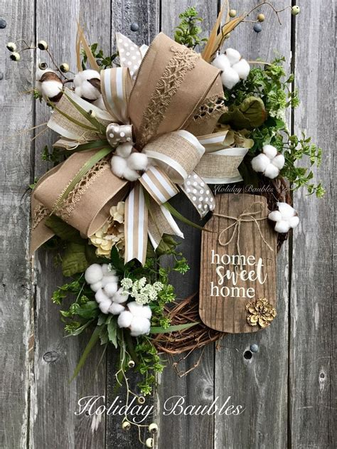 Decorative Wreaths For Home Decorative Wreaths For The Home