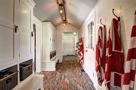mudroom floor ideas farmhouse mudroom design country laundry room