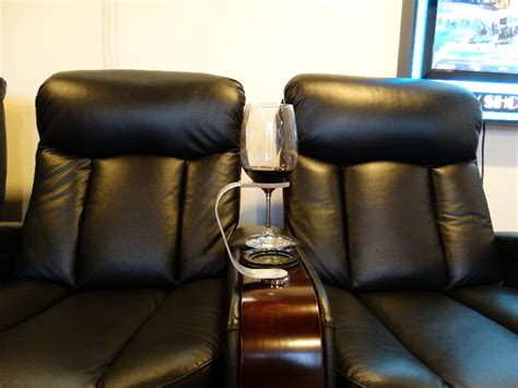 wine glass holder  htdesign theater seating