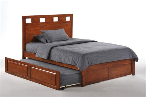 trundle queen bed night day furniture tamarind bed