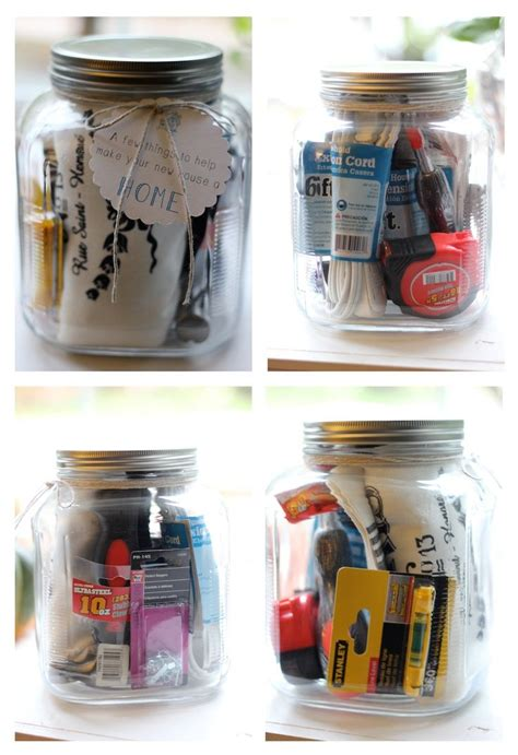 useful housewarming gifts cute house warming gift idea mason jars gifts in a jar