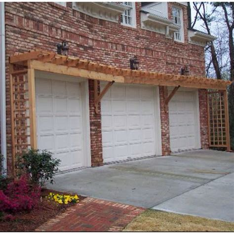 Pergola Garage by Pergola Garage Doors Home Ideas