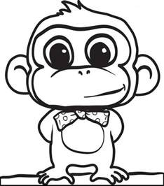 print color pages print monkey coloring pages for to print