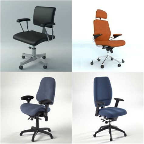 Free Office Furniture free office chairs blender 3d architect