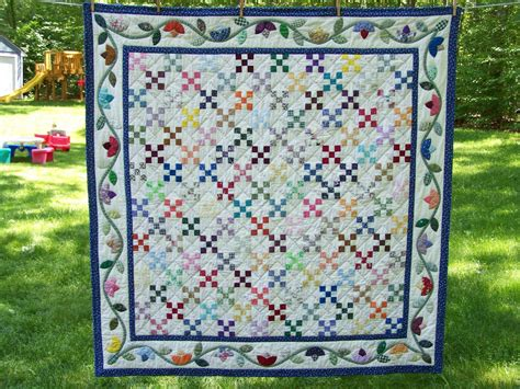 Nine Patch Quilt by When Gives You Scraps Make Quilts Nine Patch