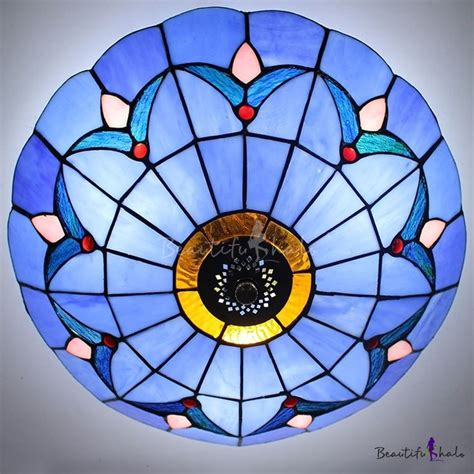 stained glass flush mount ceiling light 19 best antique style ls images on