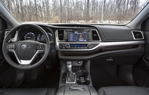 2015 Toyota Highlander Interior 2015 Toyota Highlander Review Wheels Ca
