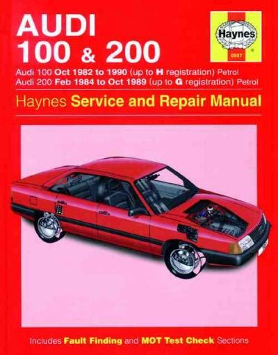 manual repair autos 1989 audi 100 on board diagnostic system audi 100 200 1982 1990 haynes service repair manual uk sagin workshop car manuals repair books