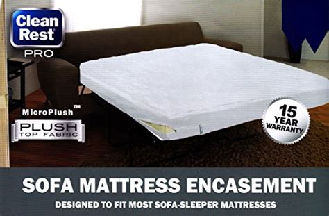 bed bug blocking sofa encasement clean rest pro sleeper sofa mattress encasement waterproof