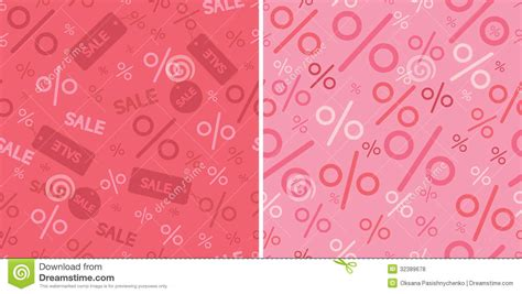 Sale Magmask Pattern 2 sale and percentage signs two seamless pattern royalty free stock photos image 32389678
