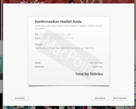 Beli Itunes Gift Card - cara beli itunes gift card dengan kartu debit macpoin