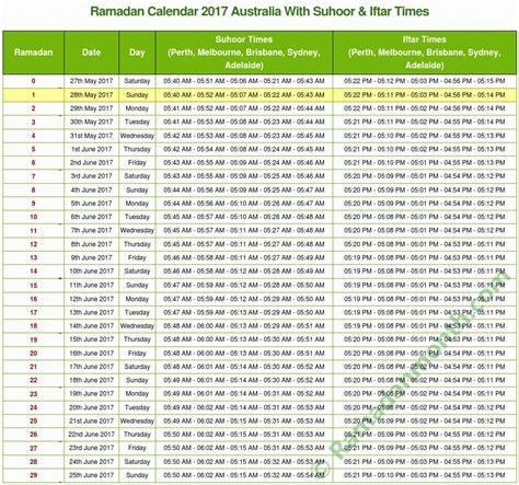 Calendar 2018 Canberra Ramadan 2018 Australia Ramadan Prayers Timetable 2018 In