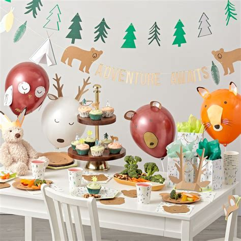 Cb2 Desk Chair Camping Birthday Party Decorations The Land Of Nod
