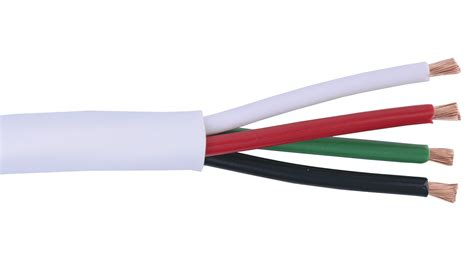 4 2 conductor wire 16 4c ko wht knockout 16 awg 4 conductor speaker cable