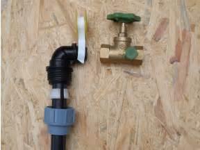 wasserhahn installieren anleitung wasseranschluss im garten kaltwasserleitung bauen de