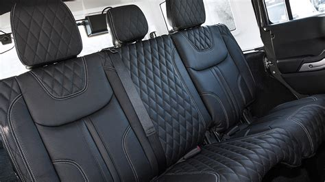 kahn jeep interior kahn releases jeep wrangler sahara ctc cj300