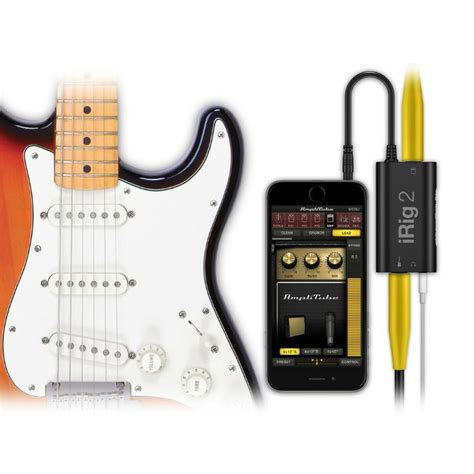 Promo Irig 2 Guitar Interface ik multimedia irig 2 guitar interface for iphone ipod touch mac android ebay