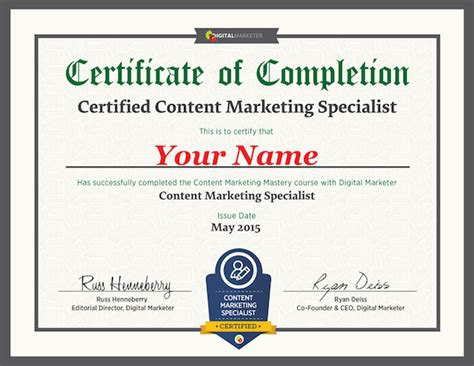Digital Marketing Certificate Programs 5 by 30 Digital Marketing Certifications To Boost Your