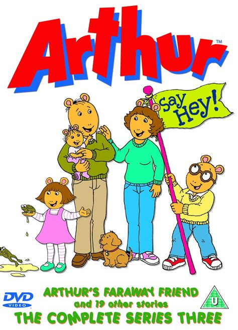 three friends the stereotype books arthur the complete series three arthur wiki fandom