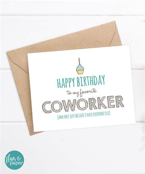 printable birthday cards coworker coworker birthday card gangcraft net