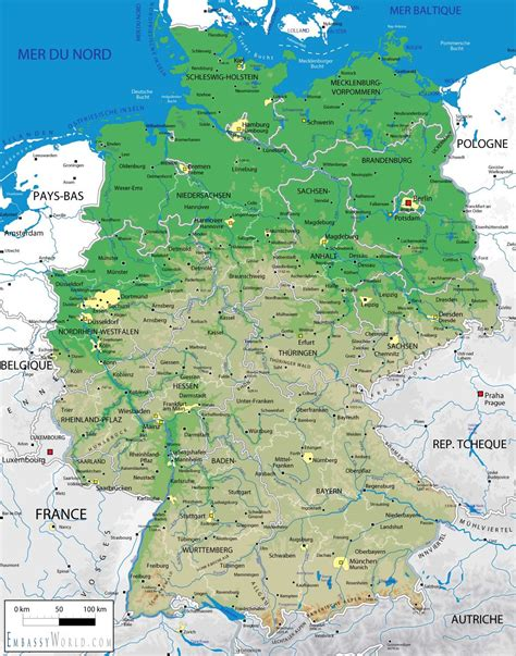 germany geographical map germany geography map world map weltkarte peta dunia