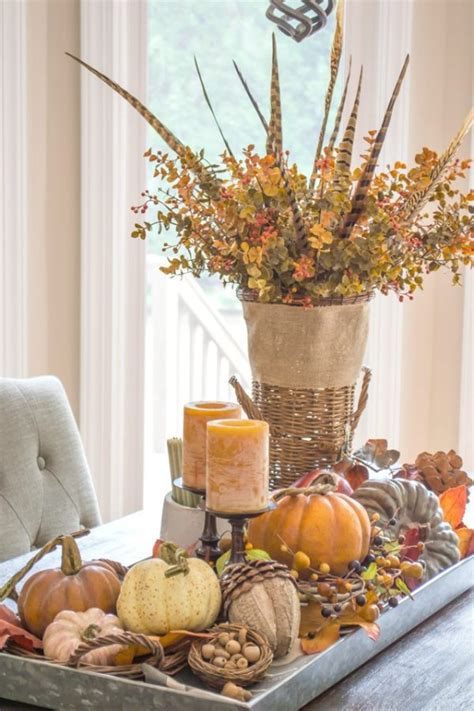 fall centerpieces for tables it one more inspiration 50 one more
