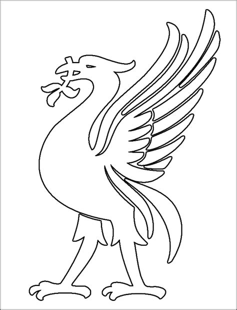 Free Coloring Pages Of Liverpool Fc Liverpool Colouring Pages