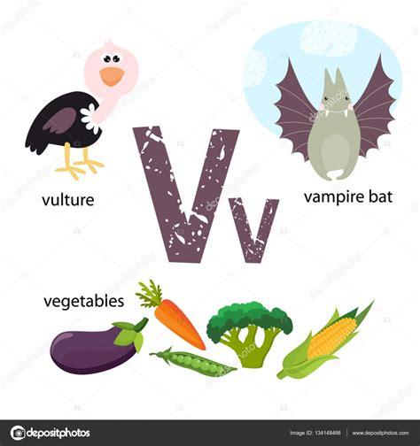 imagenes en ingles con v ilustraci 243 n de vector para ense 241 ar a los ni 241 os el alfabeto