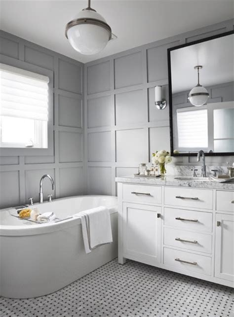 white and gray bathroom edyta co ineterior design timeless bathroom design