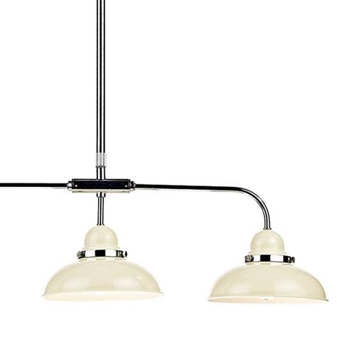 Retro Cream 3 Light Bar Pendant Lightbox Pendant Light Bar
