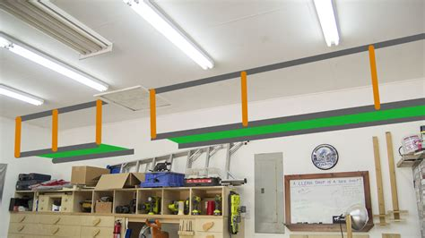 diy garage storage cabinets wasted space garage storage shelves jays custom creations